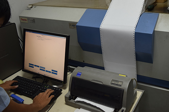 Material Tested By OES Machine